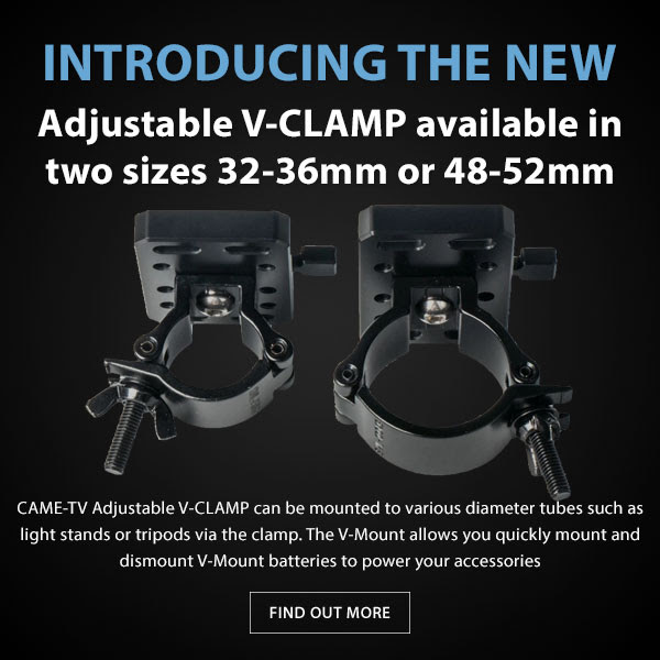 CAME-TV Adjustable V-Clamp