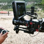 INSTAGRAM: Our CAME-TV ASTRAL Wireless Follow Focus being used with a RED Komodo by @oscarriveroplaza!  #cametv #followfocus #wirelessfollowfocus #reddigitalcinema #redcamera #cametvastral #onset #filmmaking #focuspuller