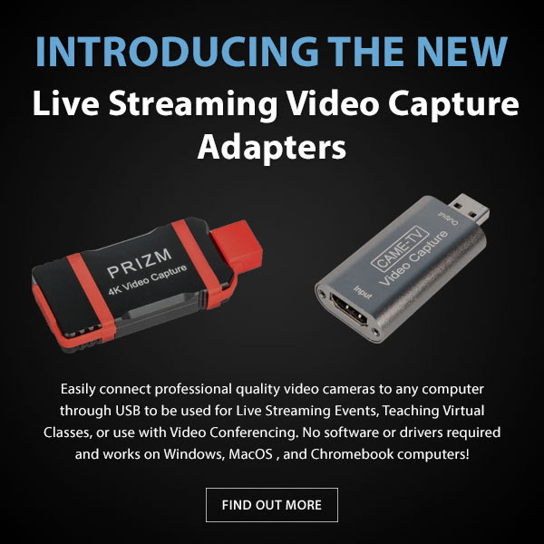 CAME-TV Video Capture Adapters