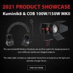 CAME-TV - 2021 Product Showcase - Kuminik8 & COB 100W/150W MKII